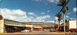 Photo - Kaunakakai view east on Ala Malama