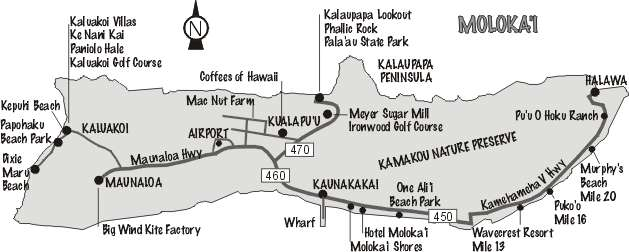 Molokai Reef   Franko's Fabulous Maps of Favorite Places ...