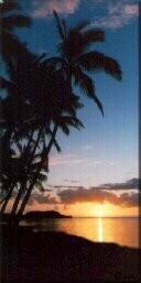 Photo - Sunrise on the east end of Molokai