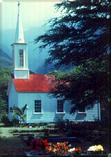 Photo - Our Lady of Seven Sorrows Church. Built by Father Damien