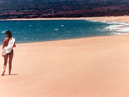 Papohaku Hawaii S Longest White Sand Beach Looking North